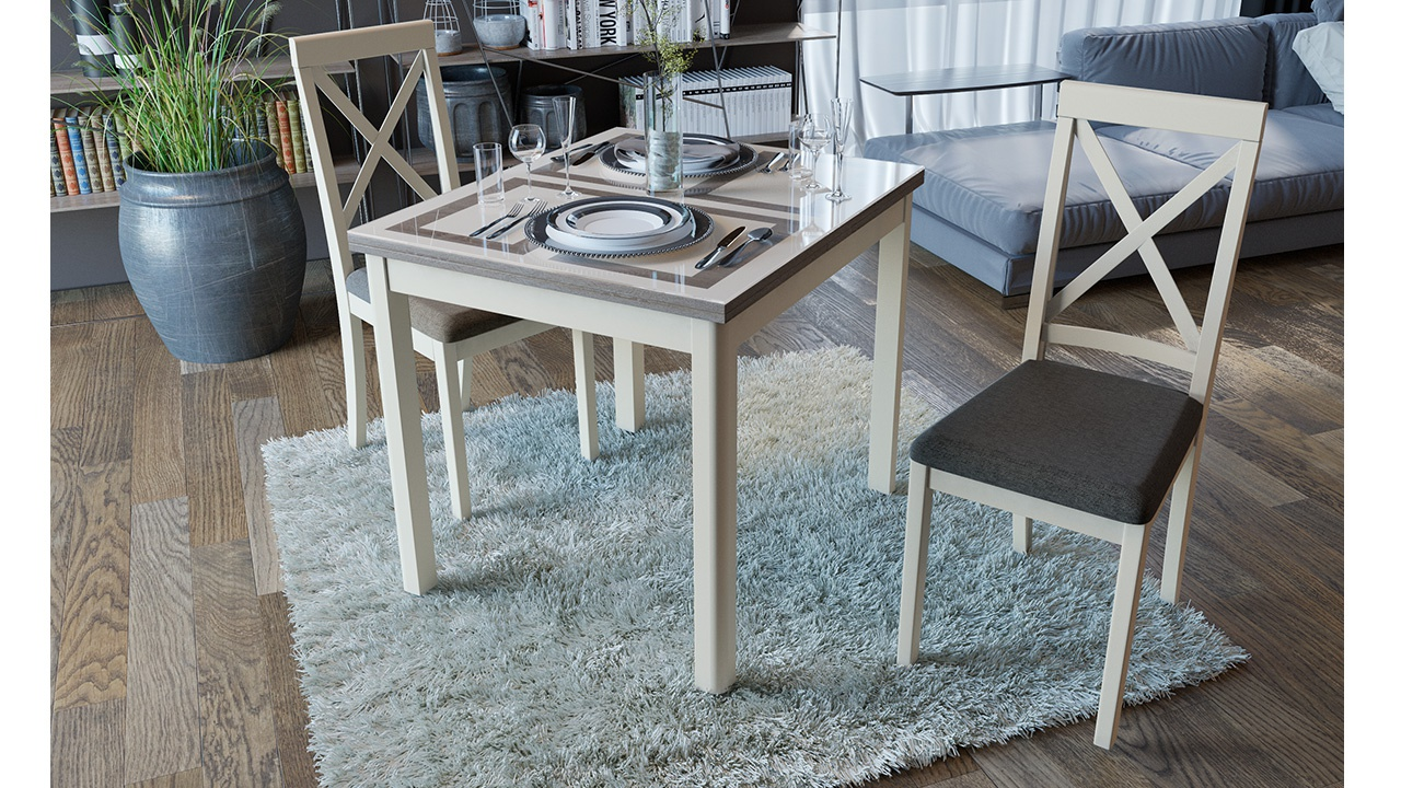 Стеклянный стол Мельбурн