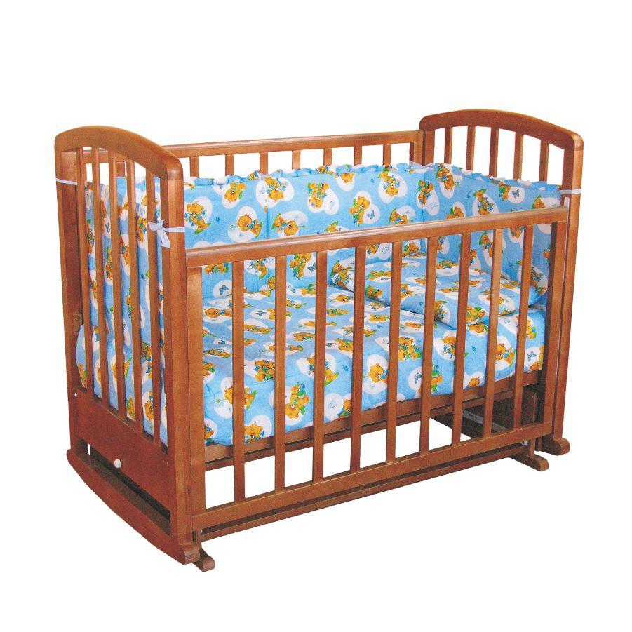 Деревянная кровать для новорожденных Фея 611
