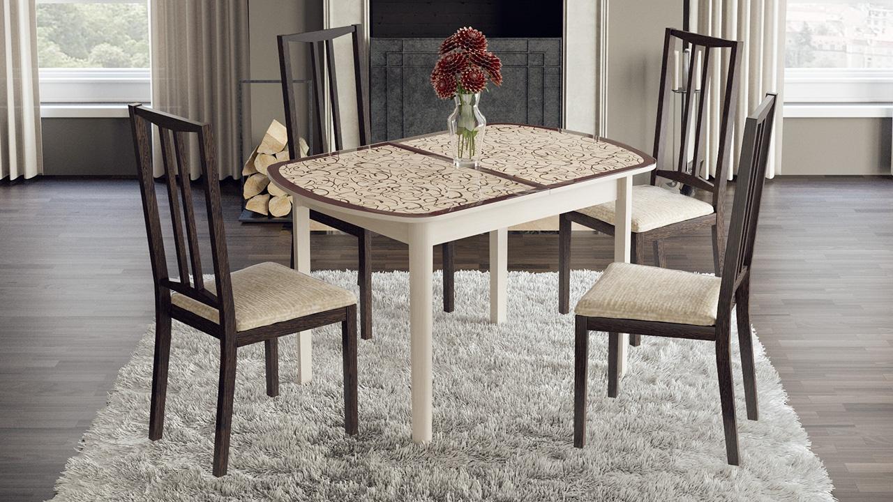Стеклянный стол Сидней