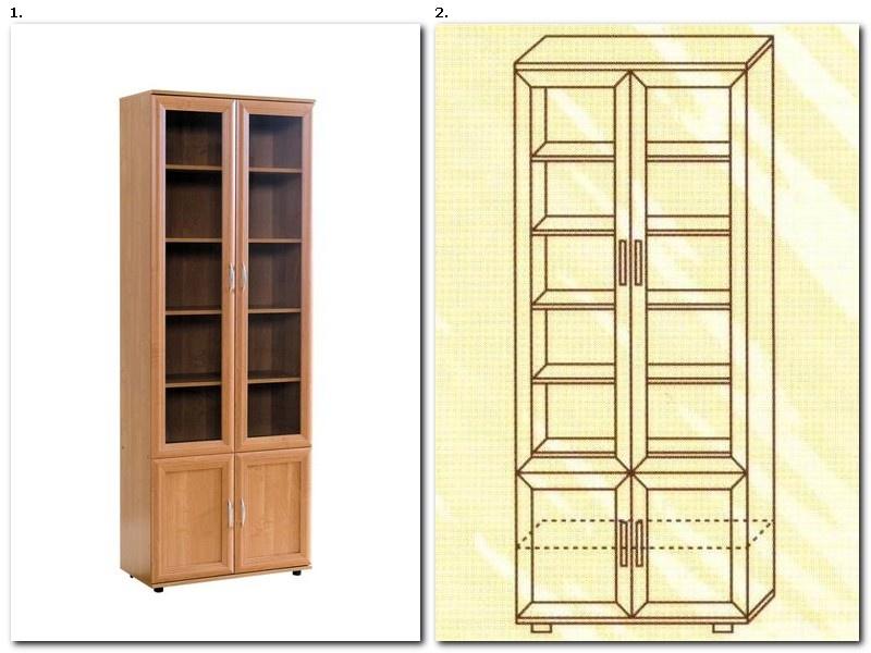 Изготовление шкафов для книг по размерам заказчика в москве.